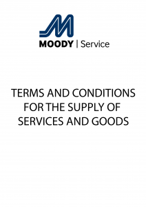 Moody Service's Terms & Conditions for the Supply of Services and Goods