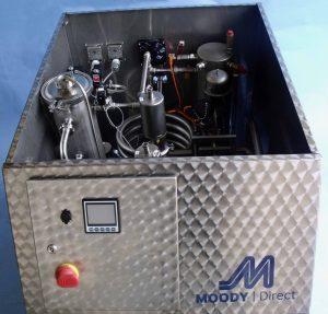 Pasteuriser Moody Direct - top