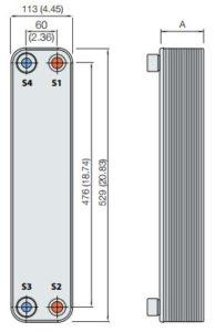 ALFA LAVAL, AC HEAT EXCHANGER, AC72-ACH72