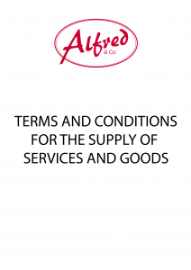 Alfred & Co's Terms & Conditions for the Supply of Services and Goods