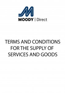 Moody Direct's Terms & Conditions for the Supply of Services and Goods