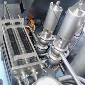 Pasteuriser Moody Direct - inside