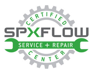 SPX FLOW Service & Repair Center logo
