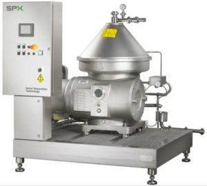 SPX Flow Seital Self Cleaning Clarifiers