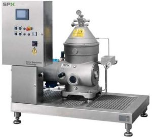 SPX Flow Seital Self Cleaning Separator
