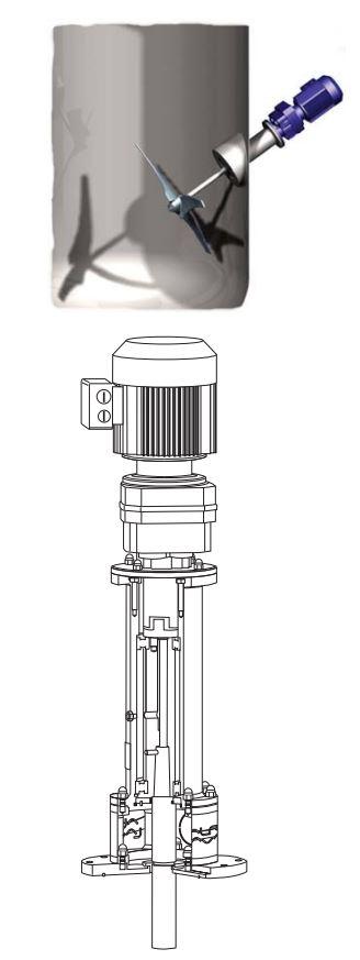Alfa Laval Tank Agitator - ALS diagram