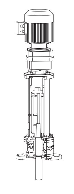 Alfa Laval Tank Agitator - ALT diagram