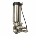 Pentair Keystone F250D-1D Double Block and Bleed Butterfly Valve