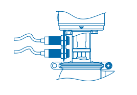 Pentair Keystone Single Seat Tank Bottom Valve F273J+ Position Sensors