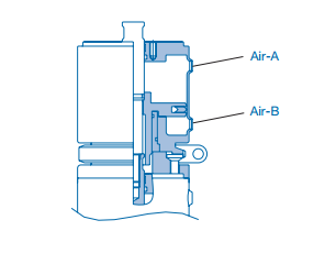 Pentair Keystone Single Seat Tank Bottom Valve F273J+ Booster Actuator