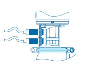 Pentair Keystone Single Seat Valves F267J - F268J Position Sensors
