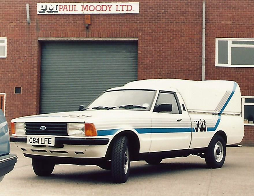 Moody Direct First Service Van 1985