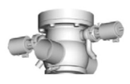 Pentair Sudmo Aseptic Process Valve Secure Housing Variants - housing for mix proof tank outlet valve