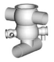 Pentair Sudmo Aseptic Process Valve Secure Housing Variants - standard housing with t-piece