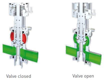 Pentair Sudmo Double Seat Valve DSV Complete Basic Valve Positions