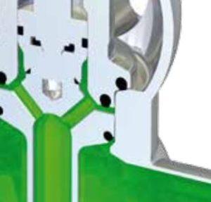 Pentair Sudmo Double Seat Valve DSV Complete Low Leakage 2