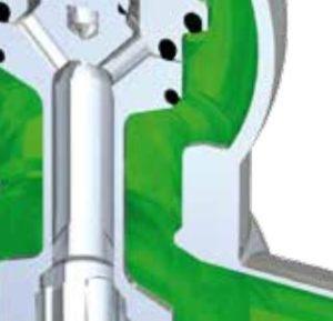Pentair Sudmo Double Seat Valve DSV Complete Low Leakage 4
