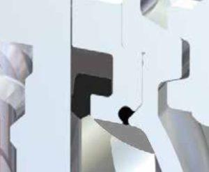 Pentair Sudmo Double Seat Valve DSV Complete Upper Shaft Passage