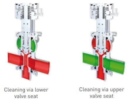 Pentair Sudmo Double Seat Valve DSV Complete Valve Cleaning