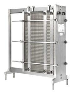 Fischer Heat Exchangers Plattenwärmetauscher and Moody Direct Plate Heat Exchanger