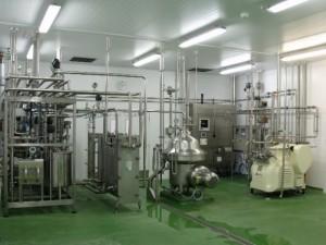 Pasteurisation plant
